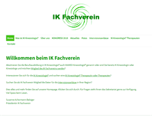Tablet Preview of ik-fachverein.ch